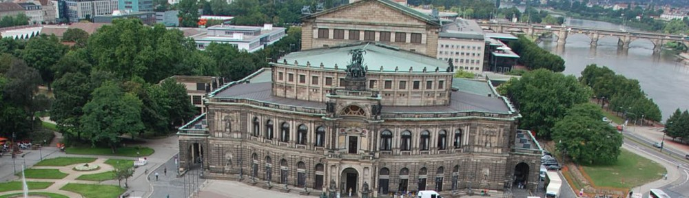 Semperoper, Dresden Panorama