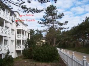 Balkon Lage